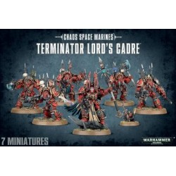 Chaos Space Marines Terminator Lords Cardre