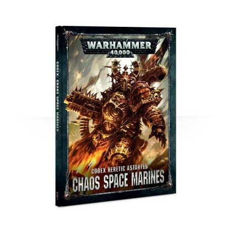 CODEX: CHAOS SPACE MARINES (ENGLISH)