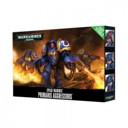Easy to Build Space Marines Primaris Aggressors