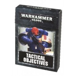 Warhammer 40,000 Tactical Objective Cards (Anglais)