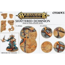 Age of Sigmar: Shattered Dominion: 40 & 65mm Round