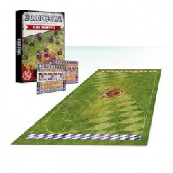 Blood Bowl Elf Pitch & Dugouts
