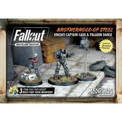 FALLOUT: WASTELAND WARFARE - BROTHERHOOD OF STEEL: KNIGHT-CAPTAIN CADE AND PALADIN DANSE
