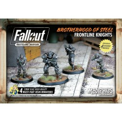 FALLOUT: WASTELAND WARFARE - BROTHERHOOD OF STEEL: FRONTLINE KNIGHTS