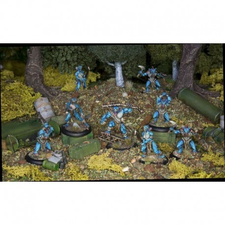 Achtung! Cthulhu Skirmish - Deep Ones War Party unit pack