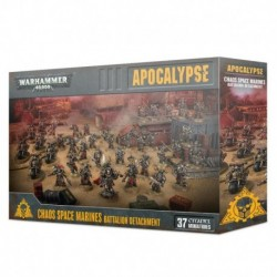 Apocalypse Chaos Space Marines Battalion Detachment