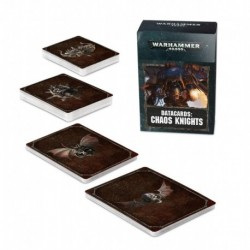 Datacards: Chaos Knights (FRANCAIS)