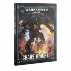 Codex: Chaos Knights (Hardback) (FRANCAIS)