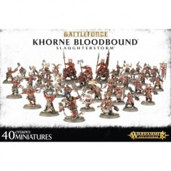 Battleforce Khorne Bloodbound Slaughterstorm