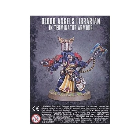 BLOOD ANGELS LIBRARIAN IN TERM. ARMOUR