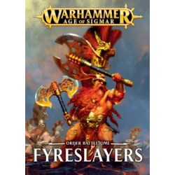 Battletome: Fyreslayers (Français)(softback)