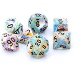 Chessex - Festive 7-Die Set...