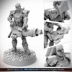 Starfinder: Half Orc Soldier