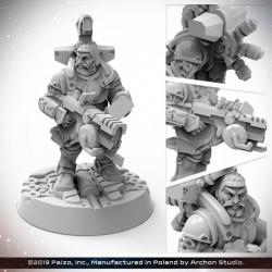 Starfinder: Dwarf Soldier