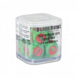 Blood Bowl Gouged Eye Dice Set