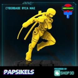Cyberbabe Ryza Mae