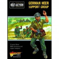 German Heer Support Group...