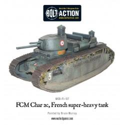 FCM Char 2c super-heavy tank