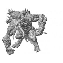 Stone Troll with Platform