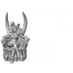 Hobgoblin Queen on Throne