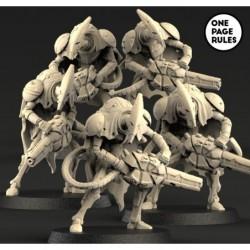 Robot Warriors (5 Models)