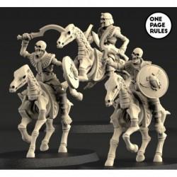 Skeleton Sword Horsemen (3...