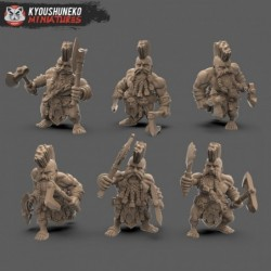 Slayer Double Axe (6 Dwarves)