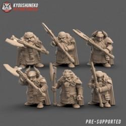 Great Axe Dwarves (6 Dwarves)