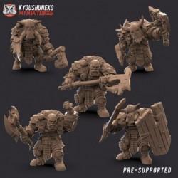 Black Orc Units (5 Orcs)