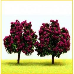 2 arbres fruitiers lila 7cm