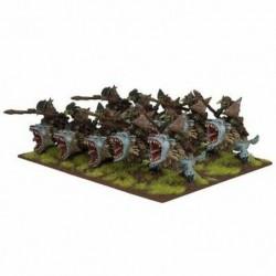 Goblins Fleabag Rider Regiment
