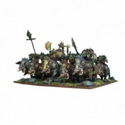 Orcs Gore Rider Regiment