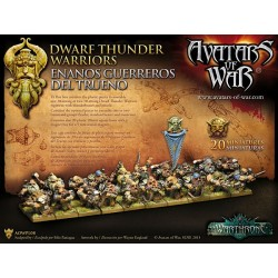 Dwarf Thunder Warriors with...
